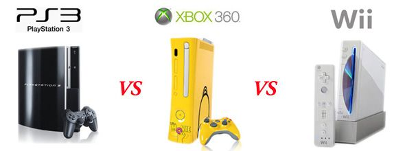 PlayStation 3 vs. Xbox 360 vs. Nintendo Wii: The Battle of Video Game Sales